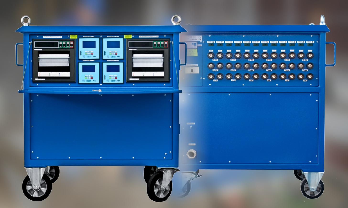 Resistive heat treatment units